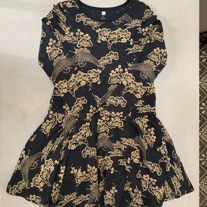 Girls Tea Collection Long Sleeve Dress Never Worn